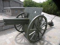大炮在Marasesti Mausoluem 免版税库存图片