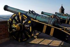 大炮堡垒k nigstein 库存图片