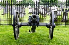 大炮民用时代战争 库存照片