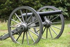 大炮联邦河石头 免版税库存照片
