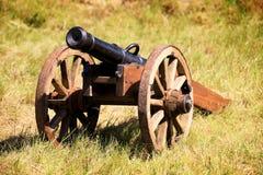 大炮领域 免版税库存图片