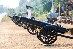 大炮,泰国 库存照片