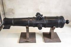 大炮annamites越南, 19世纪 奥赛博物馆  免版税库存图片