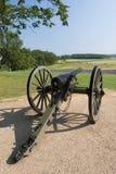 大炮e14 gettysburg 库存图片