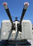 大炮s船 库存图片