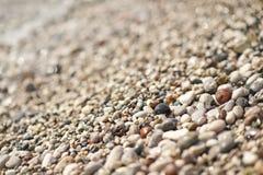 大照片Pebble海滩8649 免版税图库摄影