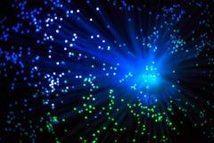 大爆炸理论引起了与特别光 库存图片