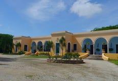 大牧场finca牧场墨西哥梅里达农厂殖民地假日温泉尤加坦 免版税图库摄影