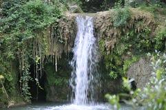 从大特尔诺沃省的Hotnitsa瀑布在保加利亚 库存照片