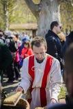 大特尔诺沃,保加利亚, 2015年4月04日, a的活示范 库存图片