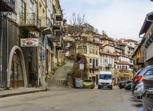 大特尔诺沃,保加利亚- 2015年4月03日:大特尔诺沃老s 免版税库存照片