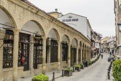 大特尔诺沃,保加利亚- 2015年4月03日:Velik老镇  免版税库存图片