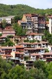 大特尔诺沃townscape 免版税库存图片