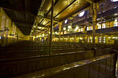 大犹太教堂 库存图片