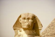 大狮身人面象 金字塔,古老文明巨石结构  库存图片