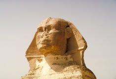 大狮身人面象 金字塔,古老文明巨石结构  库存照片
