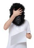 大猩猩人 图库摄影