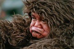 大猩猩人 免版税库存图片