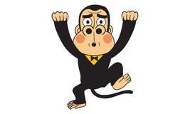 大猩猩行动传染媒介 向量例证