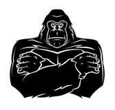 大猩猩纹身花刺