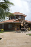 大玉米文化房子海岛尼加拉瓜 免版税库存图片