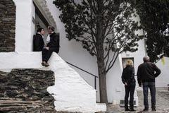 大理住所Cadaques,西班牙 免版税库存图片