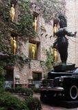 大理剧院和博物馆的,西班牙庭院设施 免版税库存图片