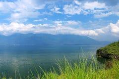 大理洱海风景在云南,中国 图库摄影