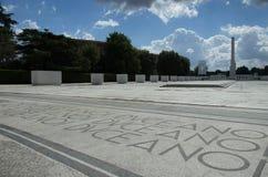 大理石体育场- Foro Italico 图库摄影