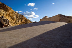 大理石原始的岩石 库存照片