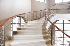 大理石台阶 免版税图库摄影