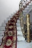 大理石台阶 免版税库存照片