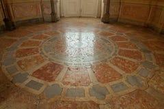 大理石在国家宫殿Mafra (葡萄牙) 图库摄影