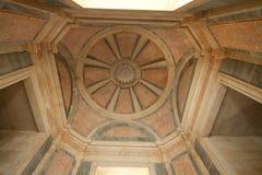 大理石在国家宫殿Mafra (葡萄牙) 免版税库存照片