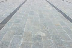 大理石地板当脚道路 免版税库存图片