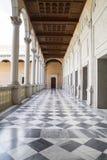 大理石地板,室内宫殿,城堡de托莱多,西班牙 图库摄影