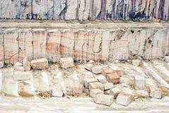 大理石块 免版税库存照片