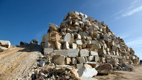 大理石堆 免版税库存图片