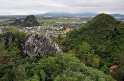 大理石山,岘港市,越南 库存图片