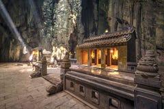 大理石山主要洞圣所 免版税图库摄影