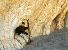 大理石山tucki墙壁 免版税库存照片