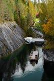 大理石峡谷的本质 库存照片