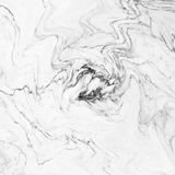大理石抽象自然大理石黑白设计的 库存照片
