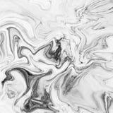 大理石抽象自然大理石黑白设计的 图库摄影