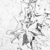大理石抽象自然大理石黑白设计的 库存图片