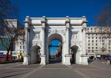 大理石曲拱,伦敦 库存图片