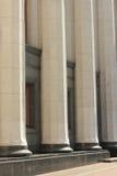 大理石柱廊  库存照片
