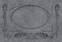 大理石框架 库存图片