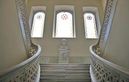 大理石楼梯 库存照片