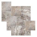 大理石模式集 库存图片